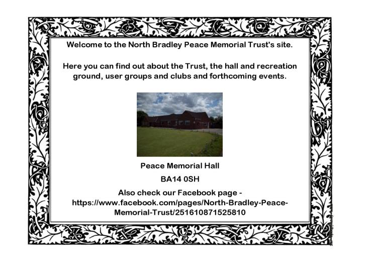 Welcome to the North Bradley Peace Memorial Trust-page-002